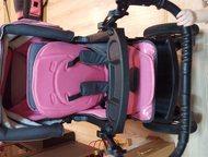 Алапаевск: Коляска-трансформер Rico-Grand Надувные колеса снимаются, регулируется по высоте и направлению движения коляски ручка, регулируется спинка и подножка,