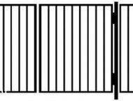 Арзамас: ворота и калитки металлические садовые Продаем садовые калитки от производителя! Голый каркас, сваренный из профиля 30*30мм. Посередине горизонтальное
