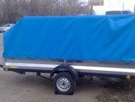 Астрахань: Прицеп для снегохода 3, 6 х 1, 6 с тентом Гарантия самой низкой цена на все прицепы.   Модель 71405В  Кузов оцинкованный р-ры 3, 6 х 1, 6  Тент с карк