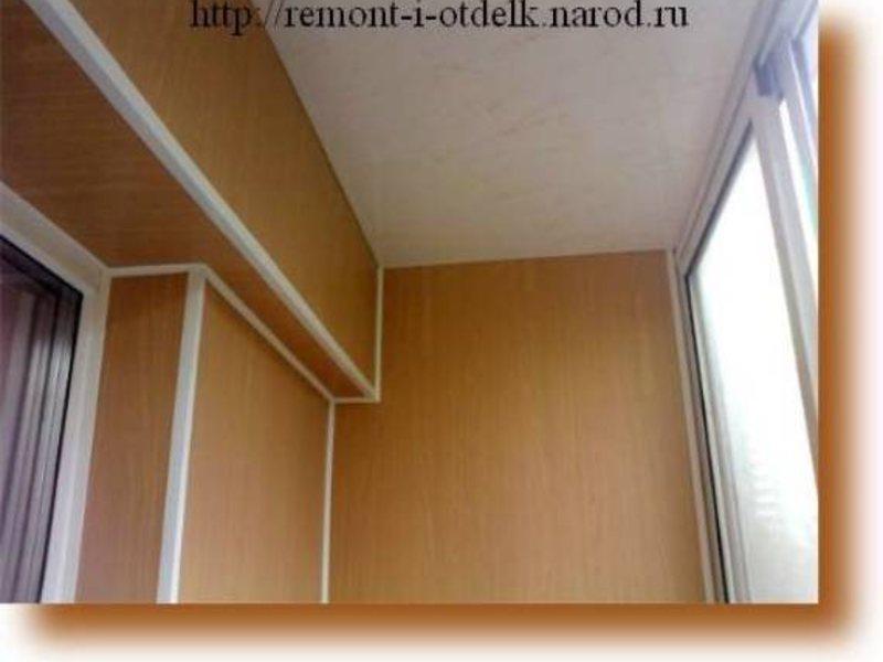 Отделка стен балкона пластиковыми панелями видео. - настройк.