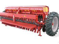 Сеялка СЗТ -3, 6 Червона-Зирка Предназначена для рядового посева семян зерновых, зернобобовых культур как раздельно, так и с одновременным посевом сып, Ижевск - Сеялка