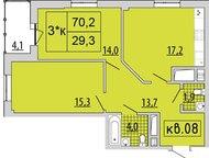Ижевск: Продам трехкомнатную квартиру Спасибо что выбрали нашу квартиру! Трехкомнатная квартира на третьем этаже 17-этажного нового жилого комплекса. -Простор