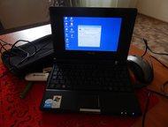 Компьютер asus компактный размер 23x16см Компьютер настроен, готов к использованию, модем прошит, остается только оплатить в МТС и можно пользоваться , Кемерово - Ноутбуки