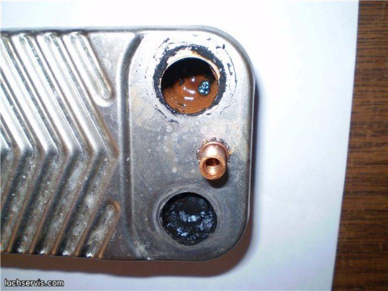 Чем можно почистить теплообменник теплообменник охладитель применяются