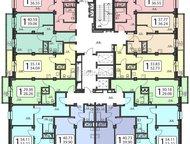 Продам от инвестора Срочно продам 1-ую квартиру Полтавская ! 38 кв. м, этаж 10-ый с балконом, чистовая отделка, сантехника, железная дверь. От подрядч, Красноярск - Продажа квартир