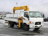 Грузовой-бортовой Hyundai HD78 c манипулятором Soosan SCS 335 А/м грузовой-бортовой с манипулятором Hyundai HD78 (E-Mighty)  Год выпуска: 2012 г. в.  , Красноярск - Грузовики (грузовые автомобили)