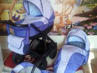 Продам коляску 3 в 1 Tutis Willy Way (аналог Zippy) Коляска 3 в 1 Tutis Willy Way (аналог Zippy) в хорошем состоянии.   Цвет универсальный, подойдет к, Красноярск - Детские коляски