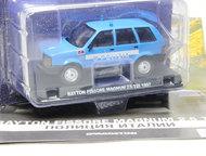 Липецк: полицейские машины мира спец, выпуск №2 Rayton fissore magnum 2, 5 TDI 1997,полиция Италии цвет:синий, масштаб:1:43, сделан из металла и пластика, мод