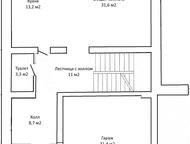 Продам Тан-Хаус Продам Таун-Хаус в пос. Южный Посад, площадью 340 кв. м. , 2 уровня + мансарда, цоколь и гараж на 2 машины на 1 этаже. Свободная плани, Магнитогорск - Купить дом