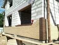 Астрахань: Строим дома и коттеджи,гаражи и бани В наши услуги входят:Основание-фунтдамент(рытье, опалубка, армировка, заливка)  поднятие стен (из кирпича, камыша