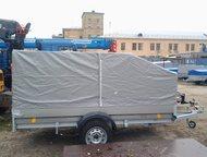 Москва: Трейлер 829450 (3, 2х1, 4) для перевозки снегохода Оцинкованный прицеп Трейлер 829450 (3. 2х1. 4) для перевозки снегохода, квадроцикла.   Размеры, 320