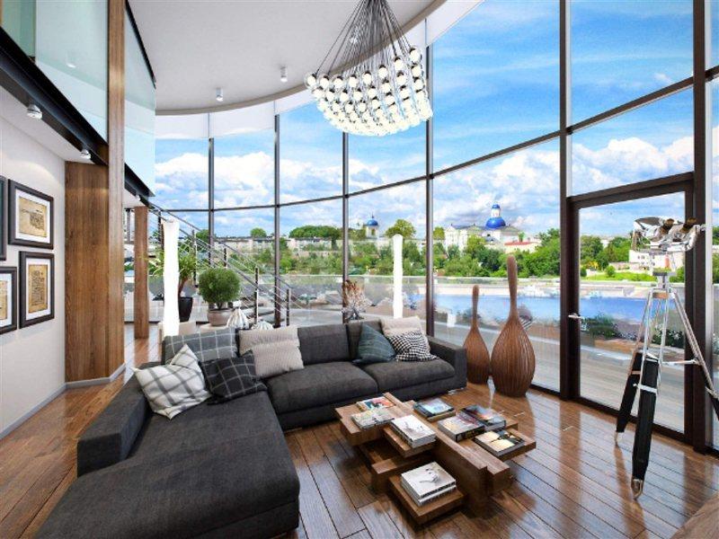 квартиры с панорамными окнами в москве фото вдвоём
