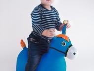 Надувная лошадка лошадь-прыгунок kid-hop (кид хоп) синяя - это мечта любого ребенка, ведь она такая яркая, эффектная, красочная и необычная.     особе, Нижневартовск - Детские игрушки