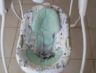 Электронная качелька Craco Электронная качелька Craco, пользовались очень аккуратно, все целое, без вмятин и царапин, без пятен! незаменимая для мамы , Нижний Тагил - Товары для новорожденных