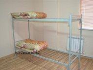 Кровати металлические Кровати полностью металлические. Одноярусные и двухъярусные. В основании сварная сетка, не прогибается. Ячейка 10*10 см.   Спаль, Октябрьский - Разное