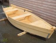 Лодка деревянная Продам лодку новую деревянную на весельном ходу, цвет Сосна, обработана защитным составом от гнили , плесени, уф-лучей, швы промаза, Нижний Тагил - Рыбалка