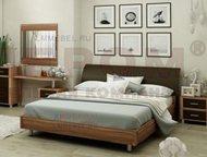продаю новую кровать Лером Продаю новую двухспальную кровать без тумбочек под матрац с металлическим каркасом 1400*2000 фабрика Лером, Ростов-На-Дону - Мебель для спальни