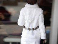 Шуба искусственная Продаю шубу искусственную. Размер:длина изделия-72см. обхват груди-88см. длина рукава-53см.   Ремешок прилагается (красивый)., Рубцовск - Женская одежда