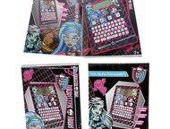 Обучающий планшет Monster High Mattel Особенности игрушки:  для детей возраста: от 7 до 10 лет  изготовлен в стилистике любимого мультфильма  содержит, Рубцовск - Детские игрушки