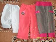Продам штаны на девочку Штаны на девочку: синие от 6 месяцев - 100 руб. , остальные - до 2 лет по 150 руб., Рубцовск - Детская одежда