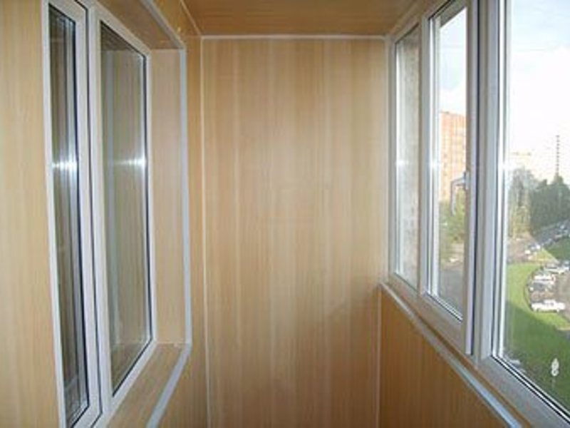 Профессиональная обшивка балконов и лоджий в санкт-петербург.