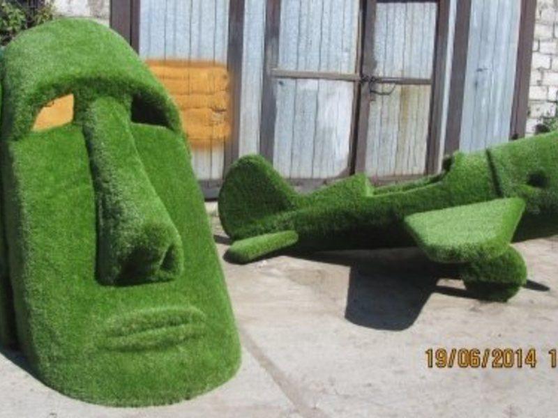 Из травы кресло своими руками
