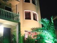 Гостиница в Адлере Продается домовладение состоящее из двух домов ( дом для хозяев который может также сдавать и 3-х этажного гостиничного дома состоя, Сочи - Гостиницы
