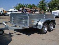 Прицеп двухосный, кузов 2,45 х 1,23 Самый маленький двухосный прицеп для управления которым достаточно иметь категорию В. Размеры кузова 2, 45м х 1,, Ульяновск - Легковой прицеп