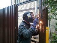 Работы со сваркой! Предлагаем любые работы связанные с металлоконструкциями и эл. сваркой, газорезка, слесарно- (де-)монтажные работы. Расчет материал, Ульяновск - Другие строительные услуги
