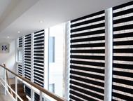 Рулонные шторы зебра Предлагаем рулонные шторы зебра. Известны так же как шторы «день-ночь».   От классических рулонных штор отличаются возможностью н, Волгоград - Шторы, жалюзи