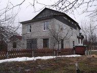 Дом 300 квадратов в Паше-Волховский район Просторный кирпичный дом в несколько уровней на берегу реки с прекрасным  и бесплатным видом, отличными сосе, Волхов - Загородные дома